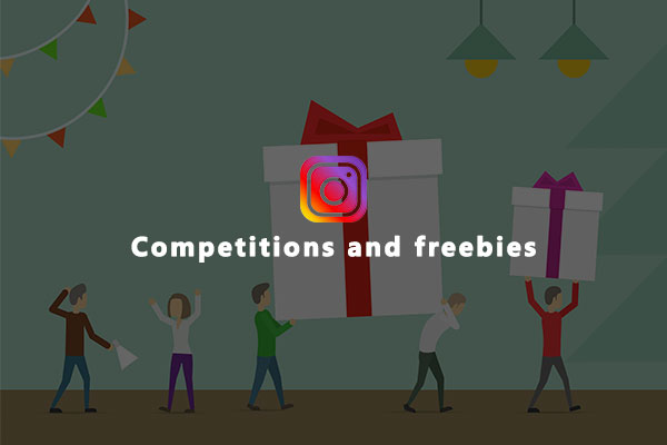 Competitions and freebies