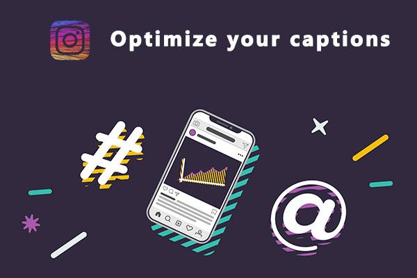 Optimize your captions